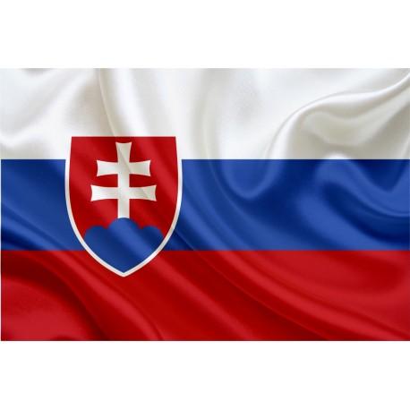 Slovākijas karogs