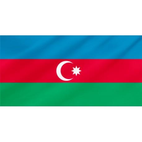Azerbaidžānas galda karodziņš