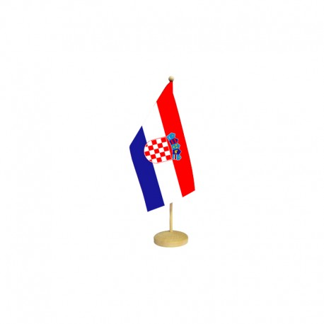 Horvātijas galda karodziņš