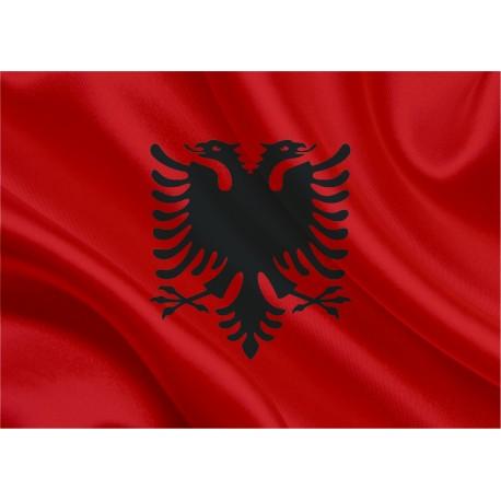 Albānijas karogs