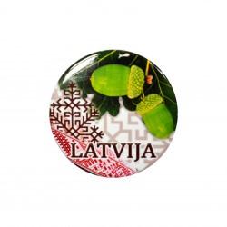 Magnēts / pudeļu attaisāmais Latvija LV21MG