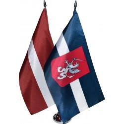 Latvijas un Latgales galda karodziņi LVLG2G