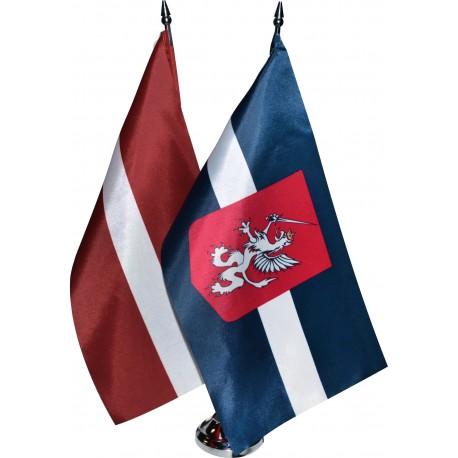 Latvijas un Latgales galda karodziņš