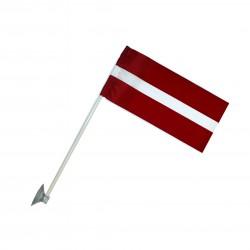 Latvijas auto karodziņš LV2A